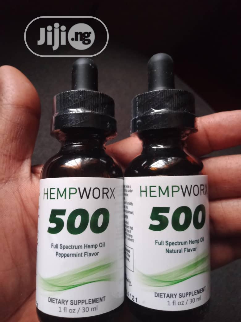 Hempworx CBD Hemp Oil