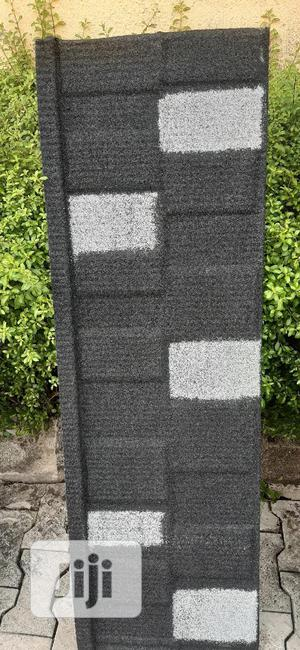 Original Newzealand Stone Coated Sheets (Black/White Shingle | Building Materials for sale in Lagos State, Epe