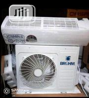 New Bruhm 1.5hp Split Air Conditioner Copper Super Cooling | Home Appliances for sale in Lagos State, Ojo