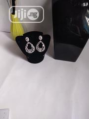 Silver Stoned Earring | Jewelry for sale in Lagos State, Agboyi/Ketu