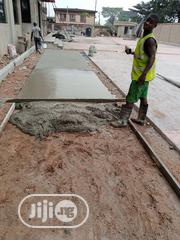 Concrete Stamp Flooring | Building & Trades Services for sale in Lagos State, Ajah