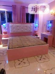 Original Bed Frame, Mattress , Side Cabinet and Mirror | Furniture for sale in Lagos State, Ajah