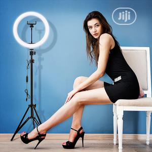 LED Selfie Ring Light With USB Ring Lamp With 2M Tripod Stand . | Accessories & Supplies for Electronics for sale in Lagos State, Lagos Island (Eko)