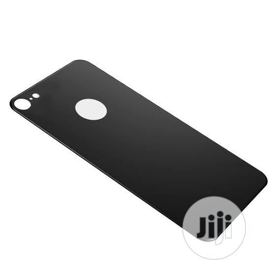 Aseus iPhone7 Plus 3D Silk-Screen Back Glass Film Black