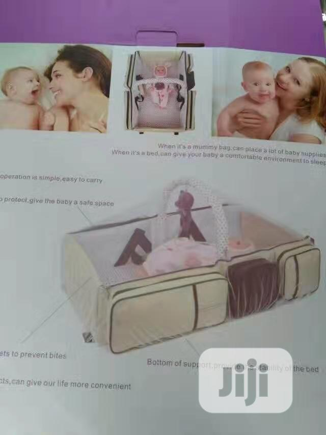 Baby Bed With Net And Bag | Children's Furniture for sale in Amuwo-Odofin, Lagos State, Nigeria