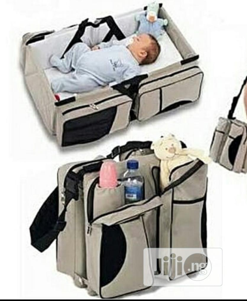 Baby Bed With Net And Bag