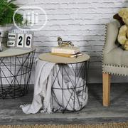 Wired Storage Stool | Furniture for sale in Lagos State, Lagos Island
