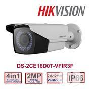 Hikvision 2MP Vari-focal 2.8mm-12mm Bullet Camera-ds-2ce16d0t-vfir3f | Security & Surveillance for sale in Lagos State, Ikeja