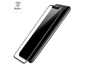Baseus 0.3mm All-Screen Arc Tempered Glass Film for iPhone X | Accessories for Mobile Phones & Tablets for sale in Lagos State, Ikeja