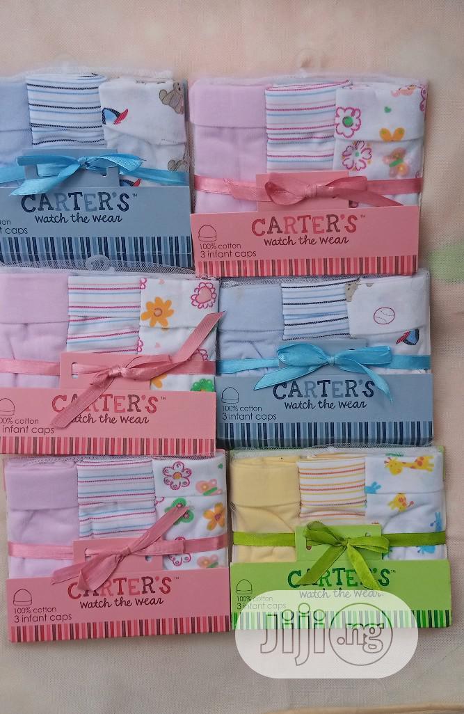 Carter's 3 In 1 Infant Caps