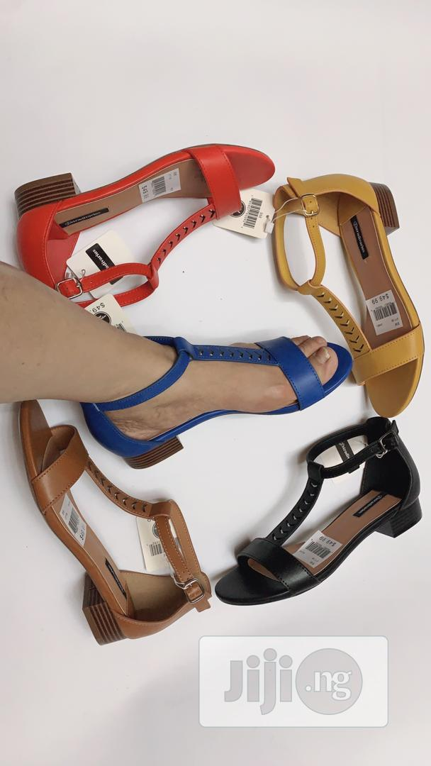 Low Heel Sanders for Ladies/Women Available in Different Sizes