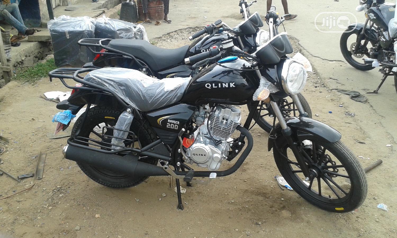 New Qlink X-Ranger 200 2021 Black