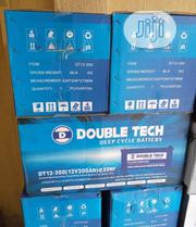 12v 200ah Double Tech Battery Available   Solar Energy for sale in Lagos State, Ojo