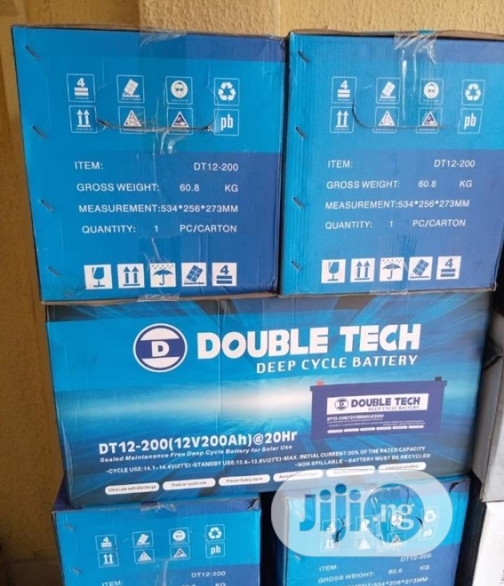 12v 200ah Double Tech Battery Available