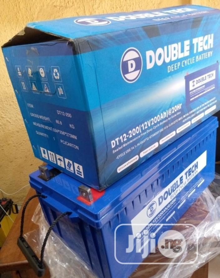 12v 200ah Double Tech Battery Available