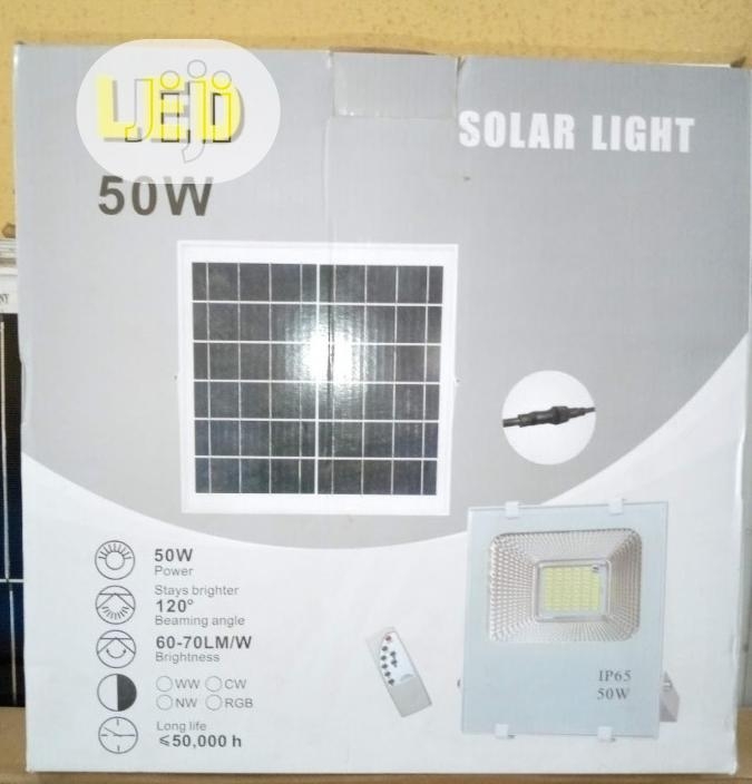 50w Solar Flood Lights Available