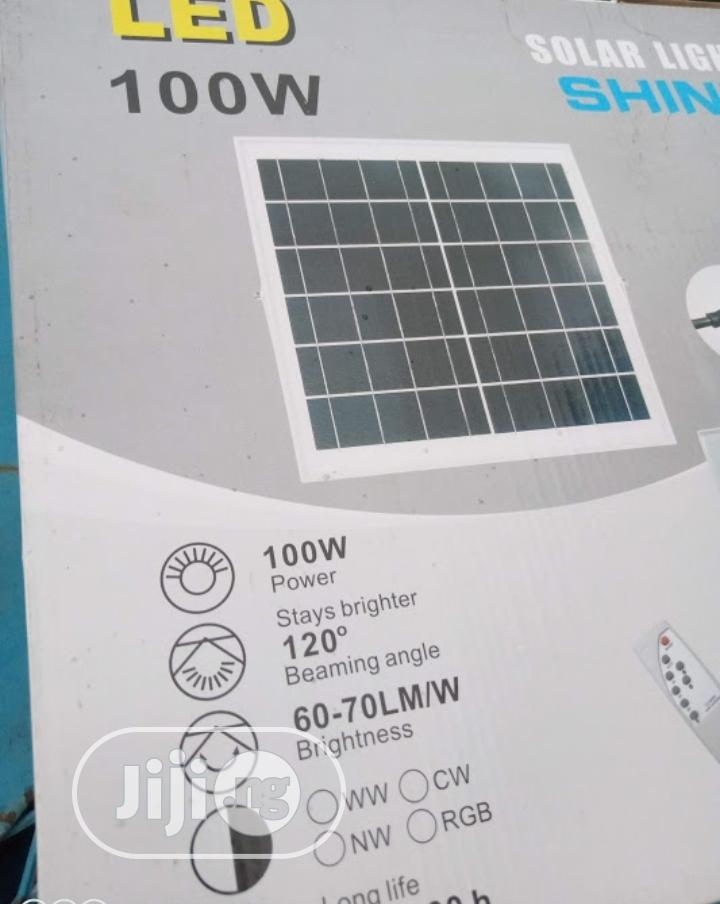 100w Solar Flood Lights Available