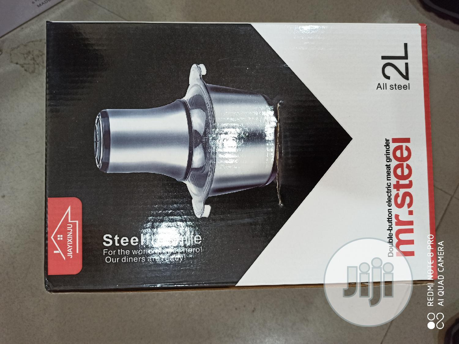Stainless Yam Pounder