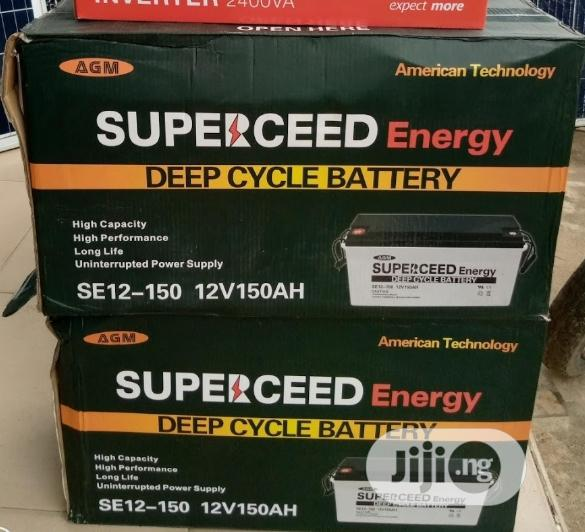 12v 150ah Supersede Battery Available