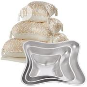 Wilton Pillow Cake Pan ,Silver ,3 in 1,Aluminium | Kitchen & Dining for sale in Lagos State, Lekki Phase 1