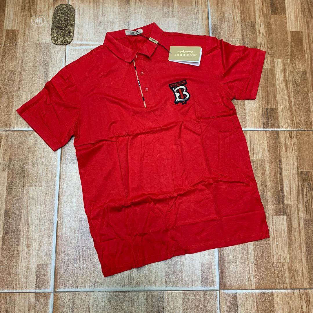 Burberry London Designer Polo Tshirts