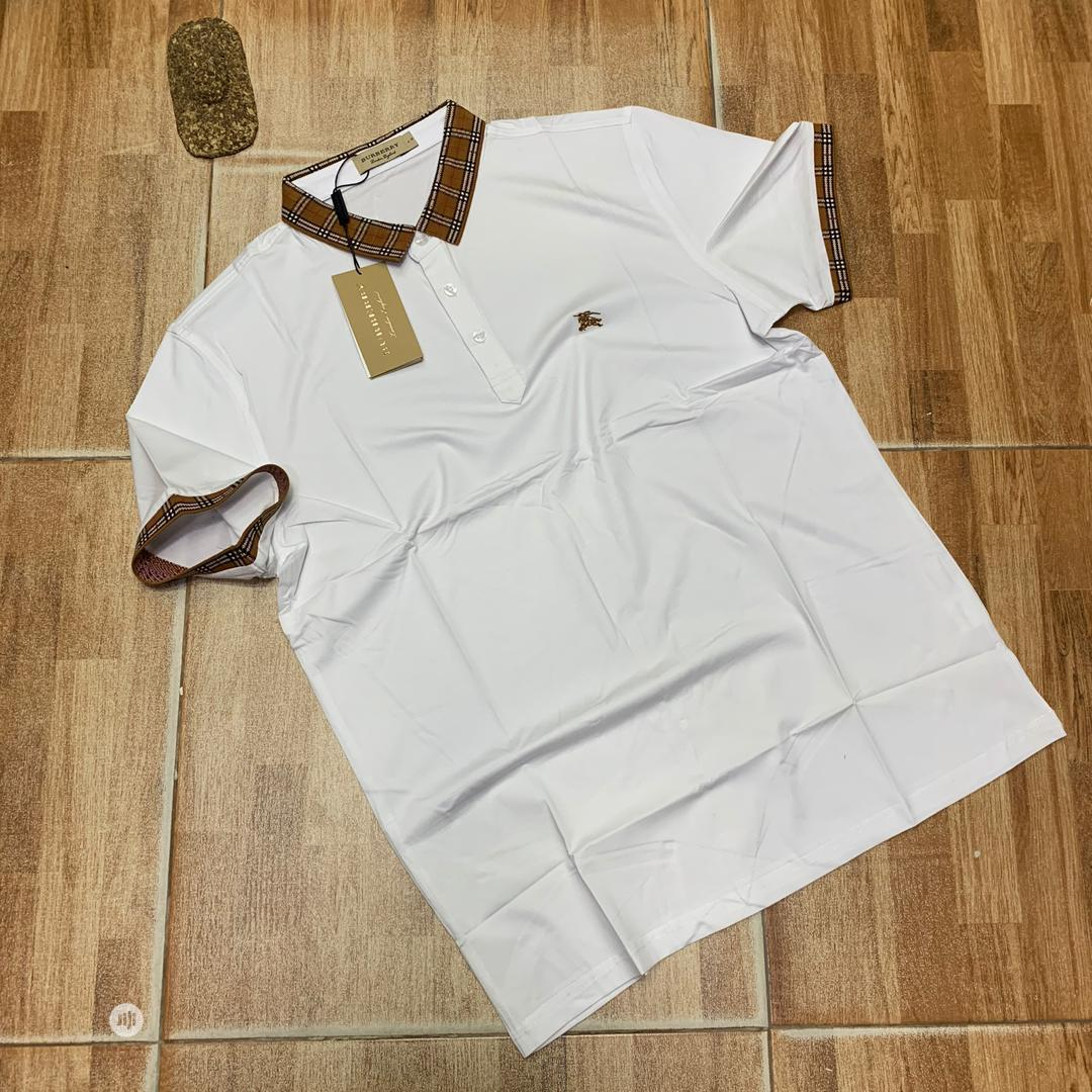 Burberry London Designer Polo Tshirts | Clothing for sale in Lagos Island (Eko), Lagos State, Nigeria