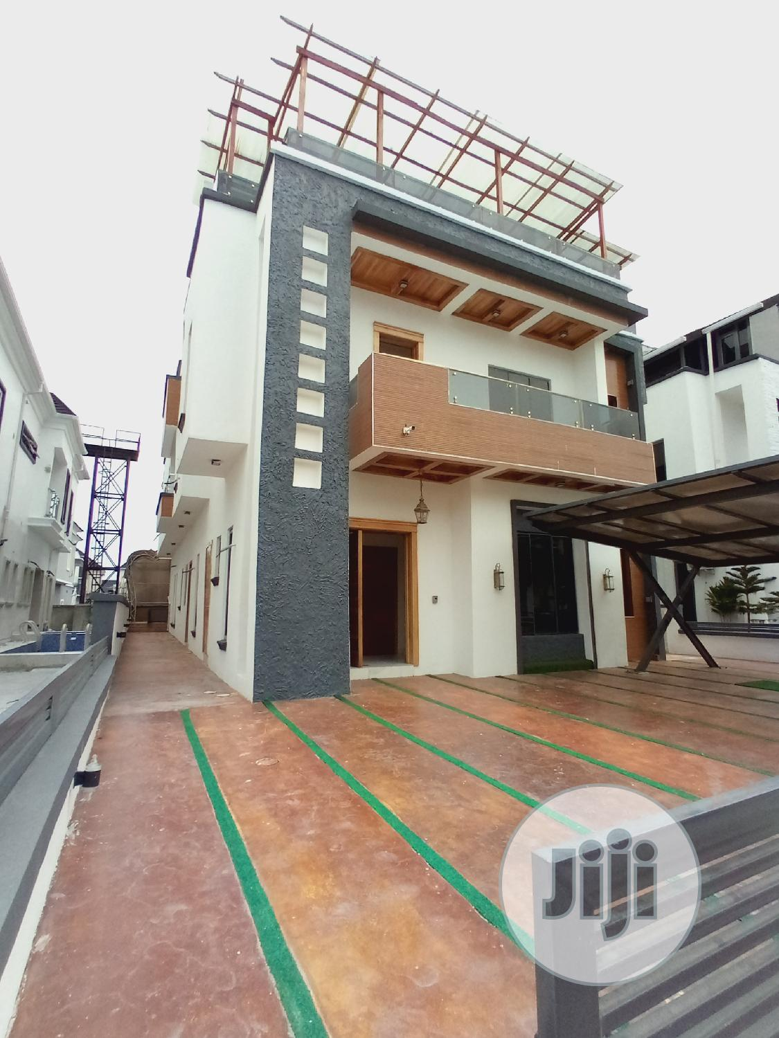 5bedroom Fully Detached Duplex With Swimming Pool And Rooftop Bar