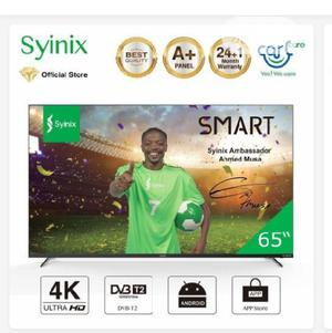 Syinix 65 Inche Tv | TV & DVD Equipment for sale in Abuja (FCT) State, Wuse
