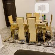 High Quality Turkey Marble Dining Table Set by 6seater | Furniture for sale in Lagos State, Ojo