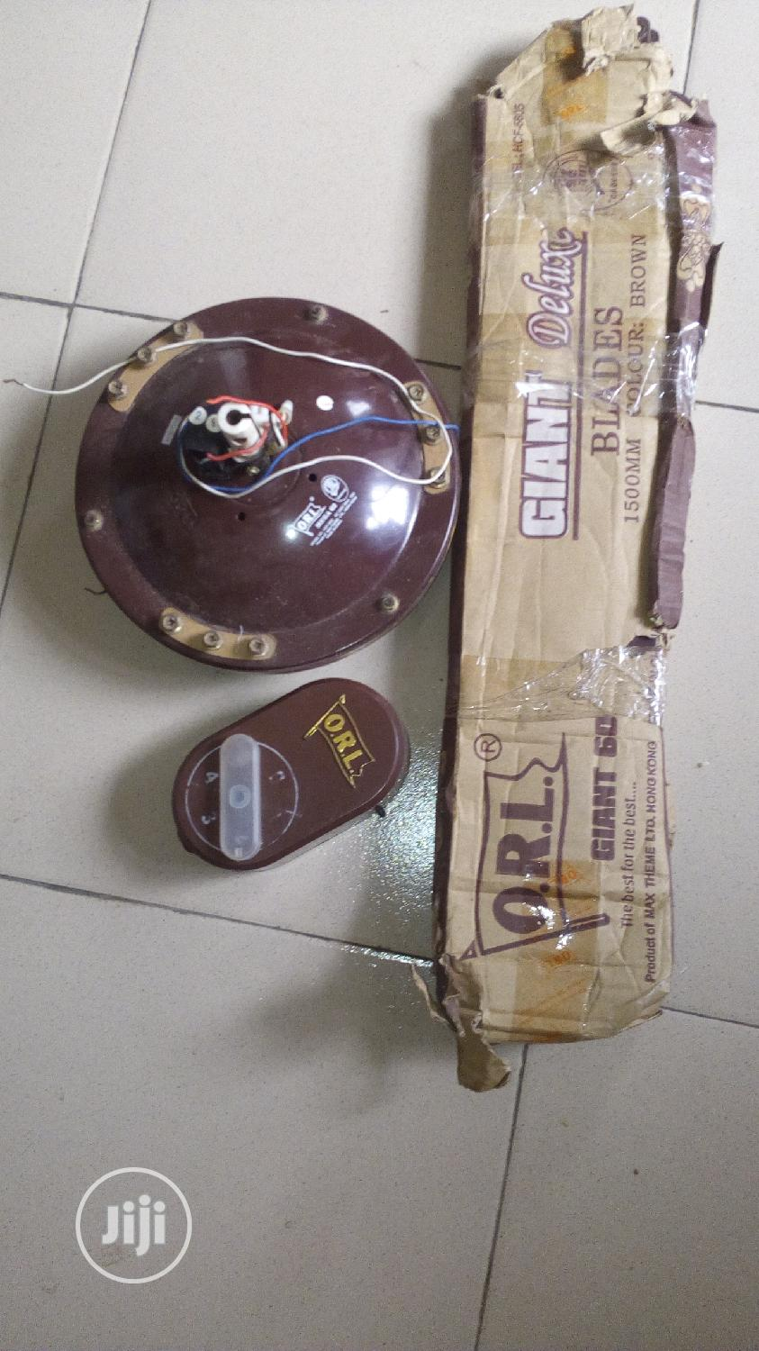"""62"""" Orl Ceiling Fans (3 Sets) 
