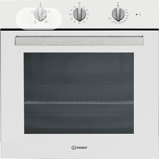 White Indesit Built in Oven 60cm