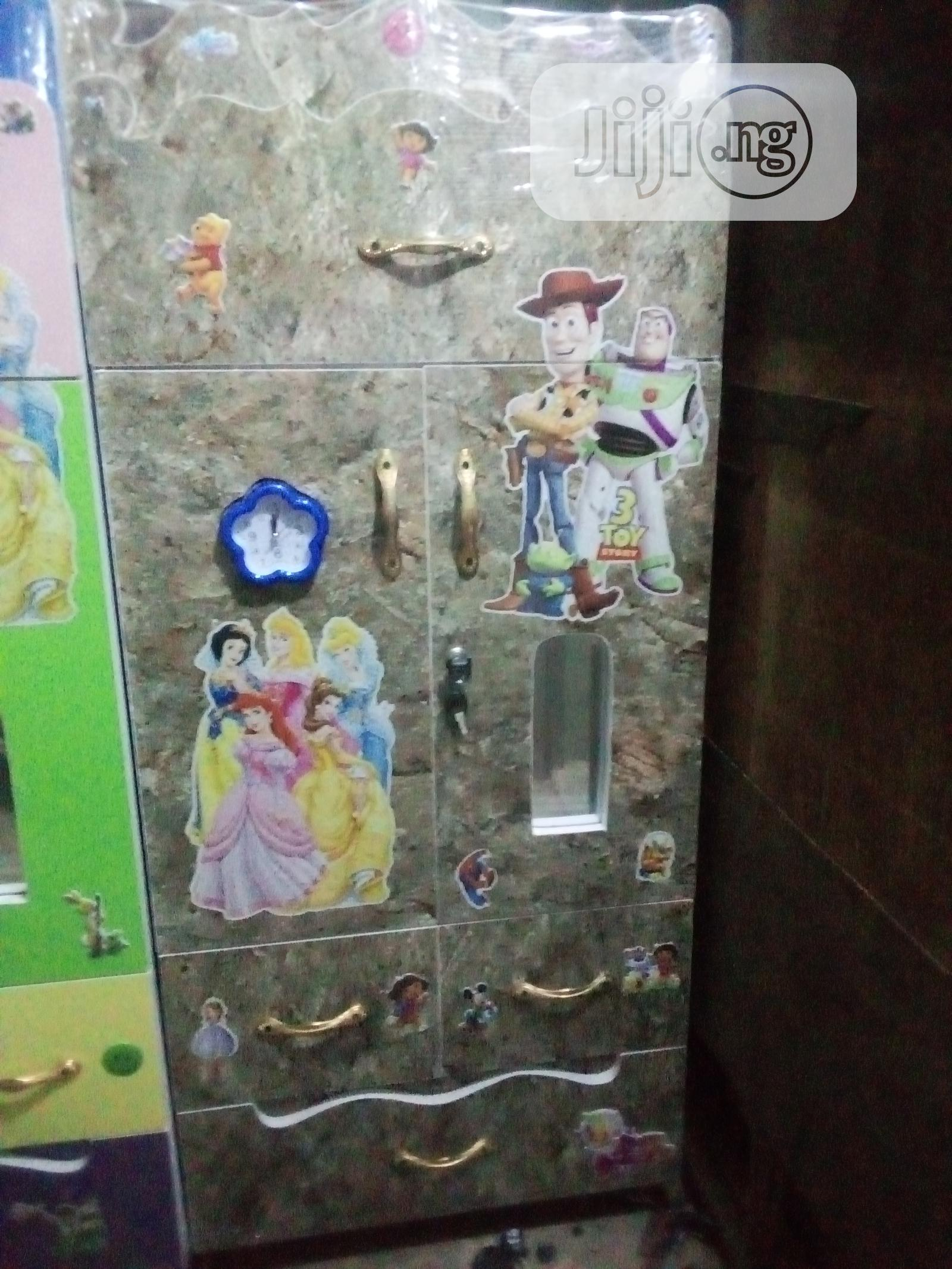 Archive: Wooden Baby/ Children Wardrobe