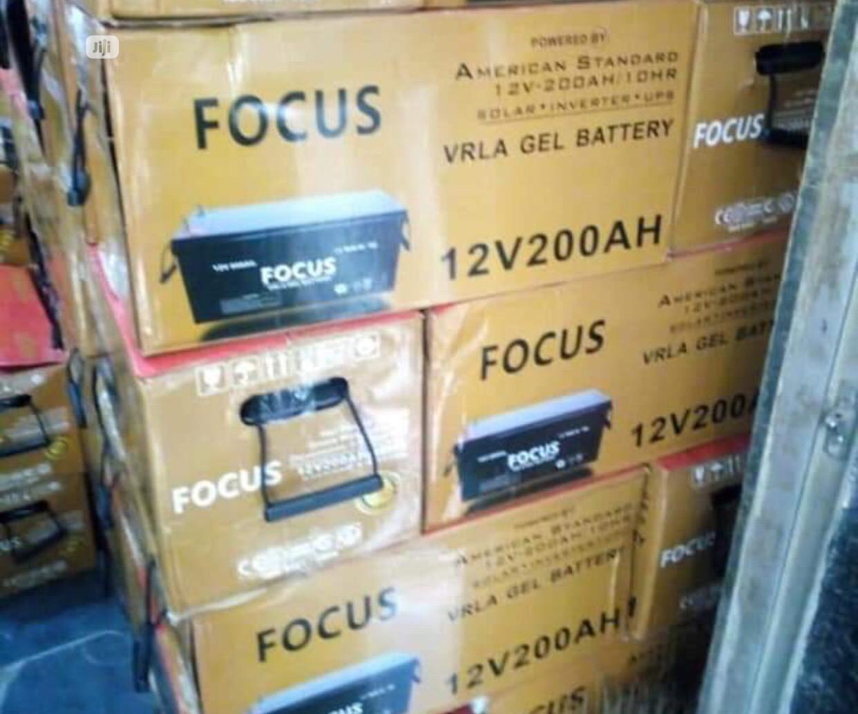 Focus Solar Battery 200ah | Solar Energy for sale in Ojo, Lagos State, Nigeria
