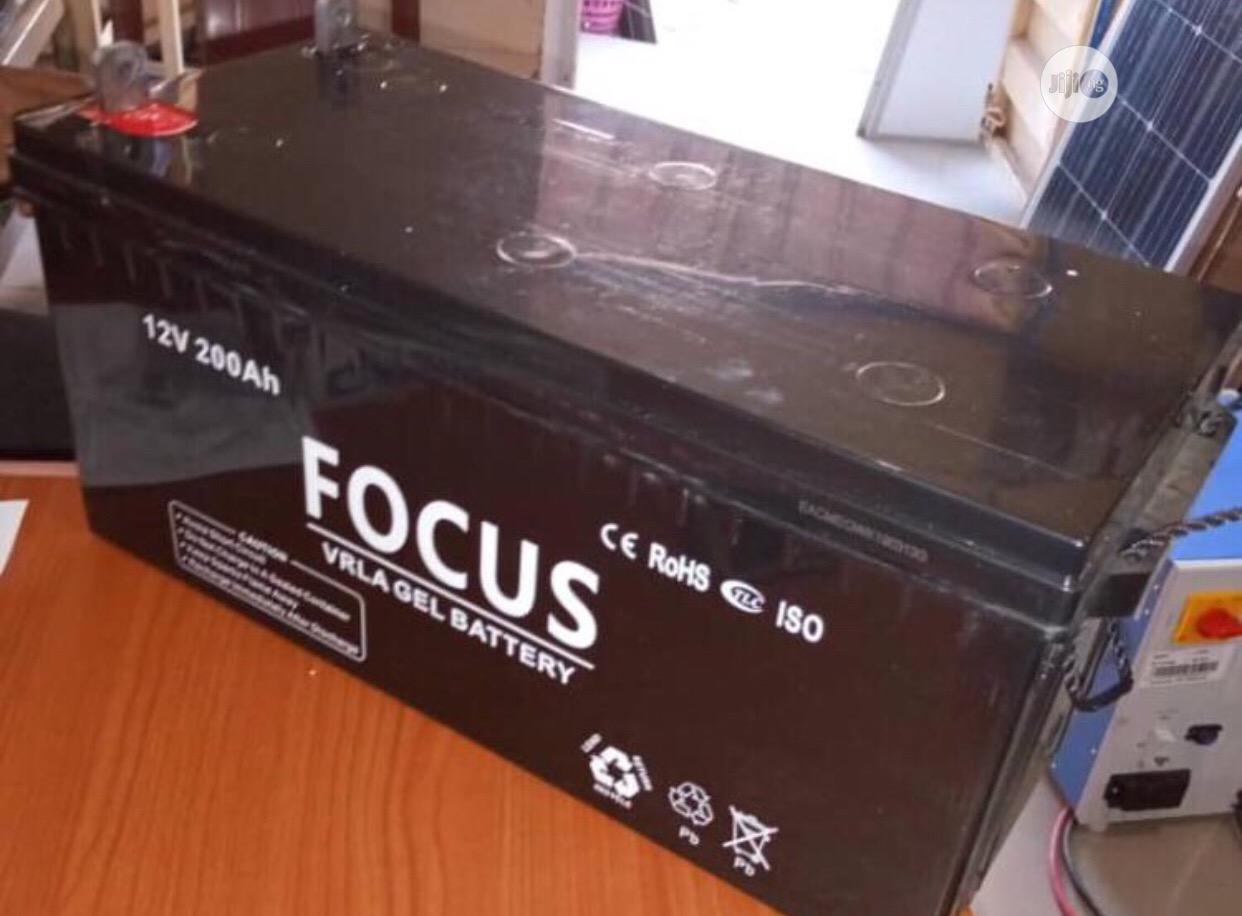 Focus Solar Battery 200ah