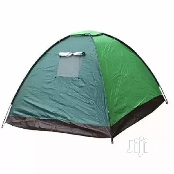 4 Man Family Camp Dome Tent With Mosquito Net