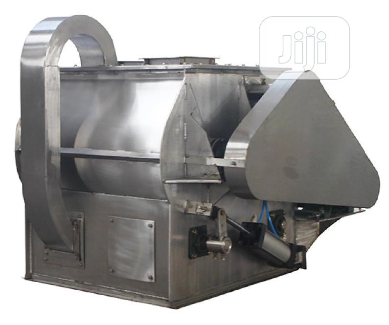 600kg Capacity Stainless Side Dual Shaft Mixer For Black Organic Soap