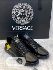 Versace Canvas Sneaker Available as Seen Order Yours Now | Shoes for sale in Lagos State, Lagos Island