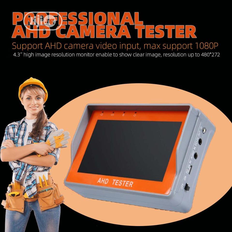 7A 4.3inch HD AHD CCTV Tester Monitor 1080P Analog Camera 12V1A Output