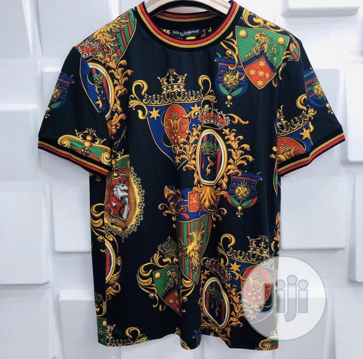 Beautiful High Quality Men'S Round Neck Polo