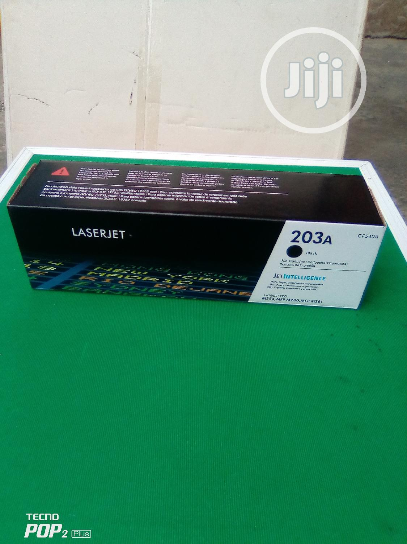 HP 203A Black Toner Cartridge