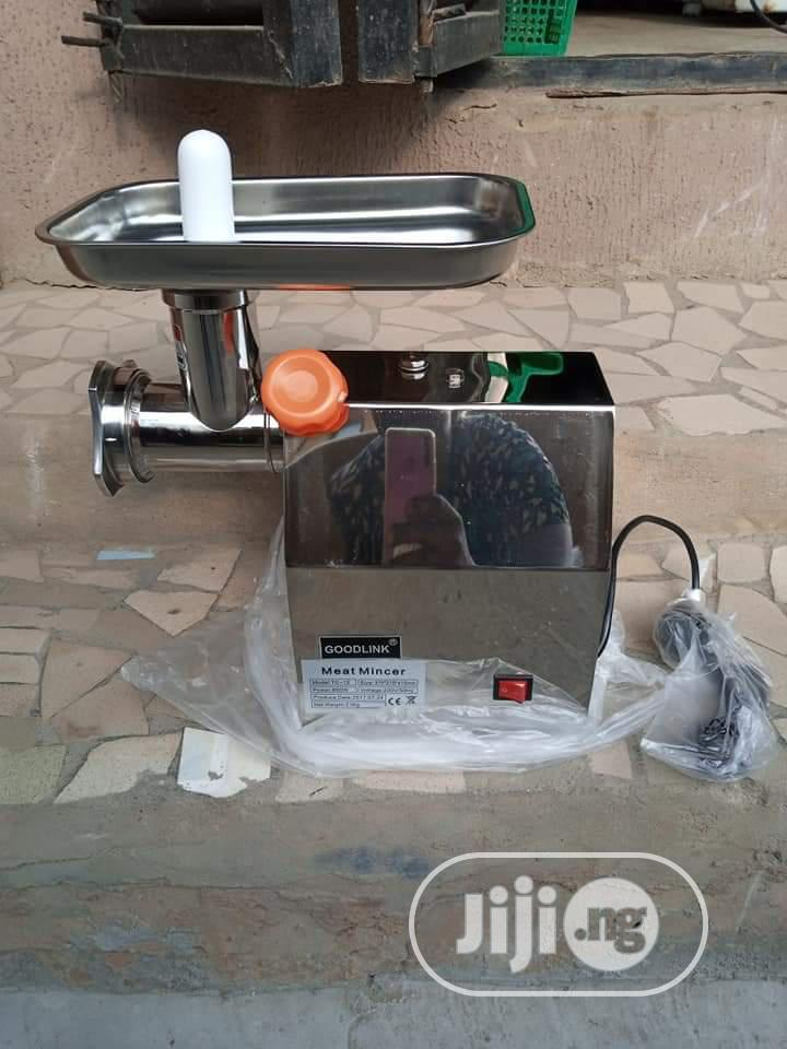 Meat Grinder Stainless Body Size 12