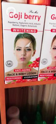 Goji Berry Face and Body Whitening Lotion | Skin Care for sale in Lagos State, Ojo