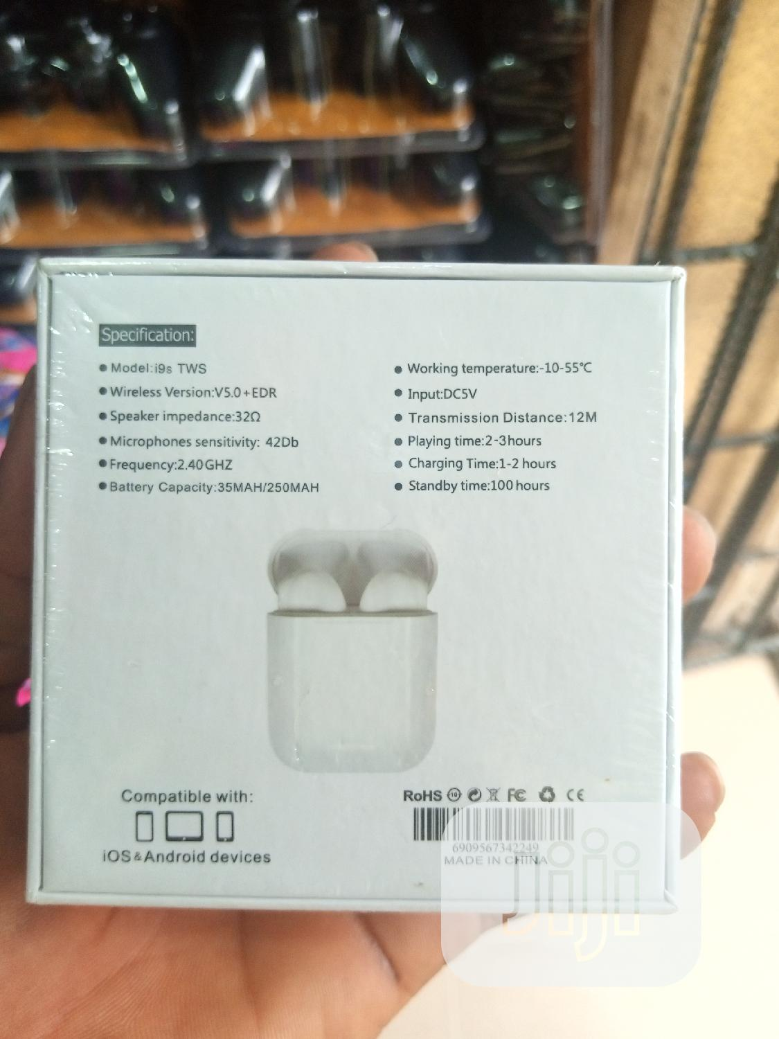 I9s - Mini TWS   Accessories for Mobile Phones & Tablets for sale in Ikeja, Lagos State, Nigeria