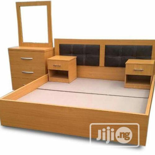 BED FRAME Executive 6'×6' Feet