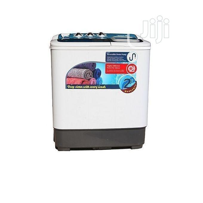 Scanfrost Twin Top Washing Machine SFSATT6M