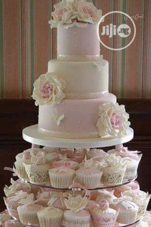 5 Steps With Cups Wedding Cake   Wedding Venues & Services for sale in Lagos State, Lagos Island (Eko)
