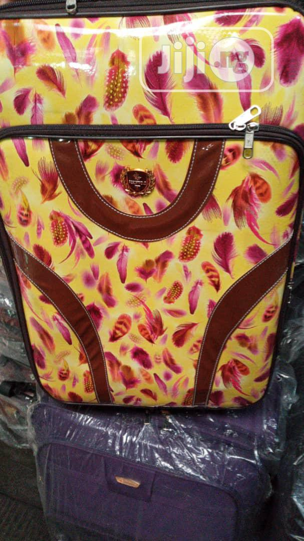 Traveling Trolley Luggage 3 Set