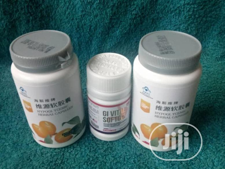 Clear Herpetitis Totally With Gi Soft Gel And Hypoglycemic Herbal