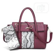 Stylish 2-In-1 Ladies Croc Leather Handbag | Bags for sale in Lagos State, Ikeja