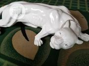 Abstract White Panther Sculpture Geometric Leopard Statue Wildlife | Arts & Crafts for sale in Kano State, Kano Municipal